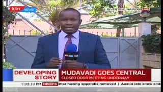 Musalia Mudavadi in a closed door meeting with Central Kenya leaders