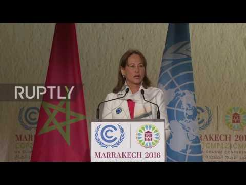 Morocco: COP22 officially opens in Marrakesh