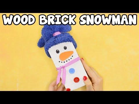 wood-block-snowman-craft-for-kids