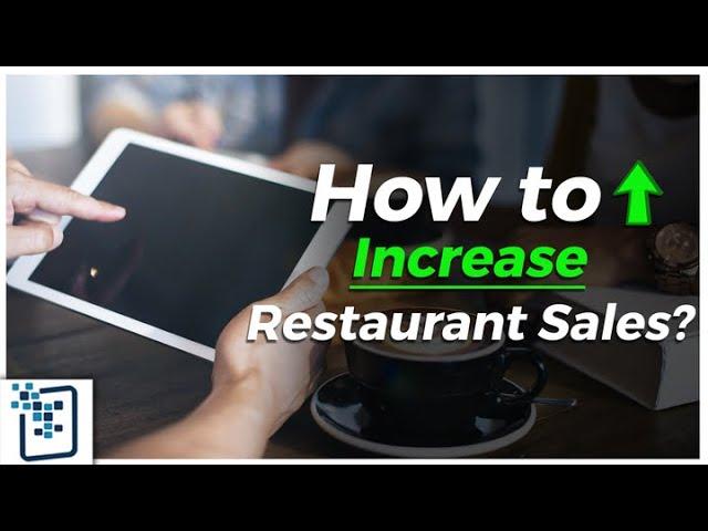 How to Increase Restaurant Sales? Increase Restaurant's Revenue - iPad Menu for Hotels