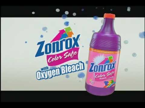Zonrox Color Safe With Oxygen Bleach 2012 Tv Commercial