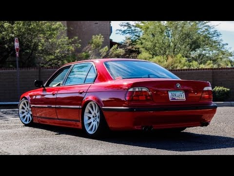 slammed vip bmw e38 740il one take youtube. Black Bedroom Furniture Sets. Home Design Ideas