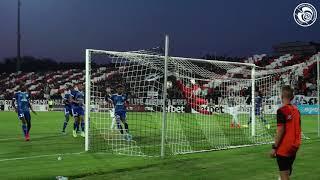 Lokomotiv Plovdiv-Racing : le but de Mitrovic vu du bord terrain