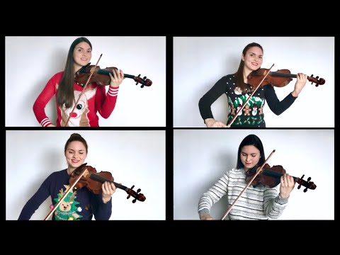 CAROL OF THE BELLS - 4 Violins (ft. Violin MD)