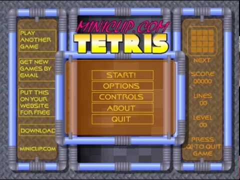 Tetris Game Play Gratis Online