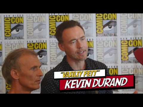 Kevin Durand Vasily & Richard Sammel Eichorst discuss new vampire world The Strain  Season 4