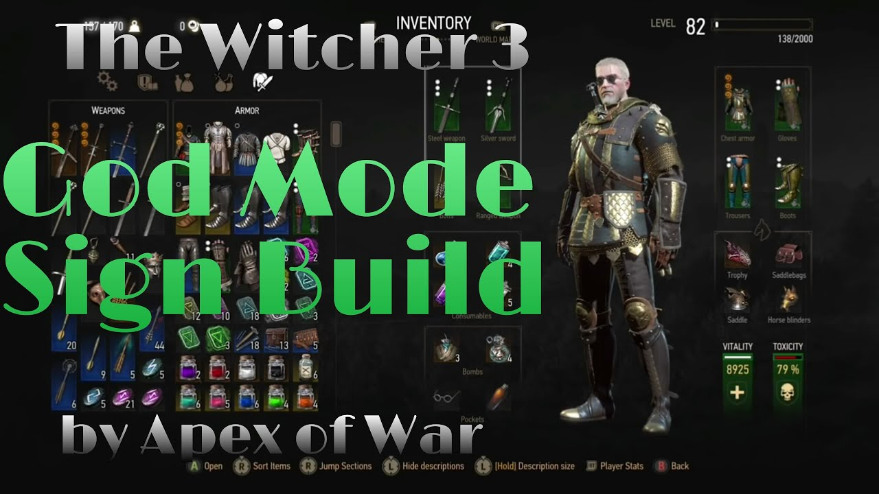 The Witcher  Best Talent Build