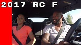 2017 Lexus RC F Test Drive By Celebrities