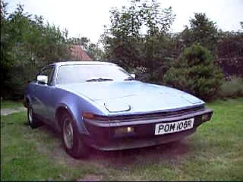 Triumph TR7 from 1977 AVI