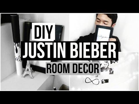 DIY JUSTIN BIEBER ROOM DECOR 2017 | SwaggieBelieber