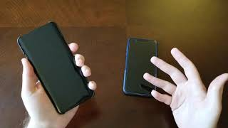 OnePlus 7 Pro vs iPhone Xs Max - Unlocking Comparison