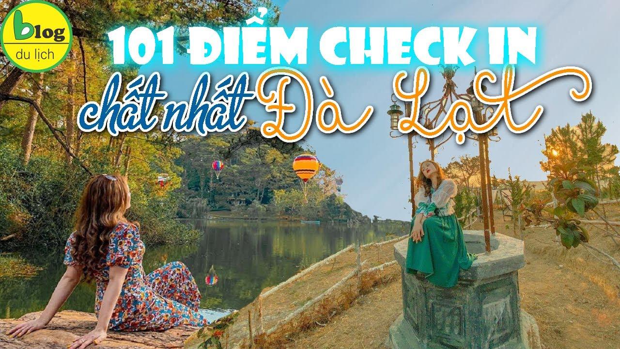 Du lịch Đà Lạt cuối năm check in 101 địa điểm du lịch Đà Lạt siêu hot -  YouTube