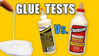 Testing Wood Glues - Titebond Vs. Bondrite Adhesives