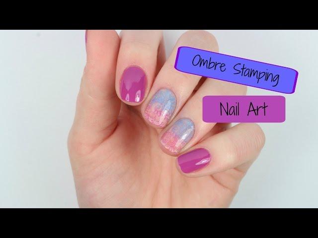 Ombre Nail Art Diy Video Nail Art Designs Diy
