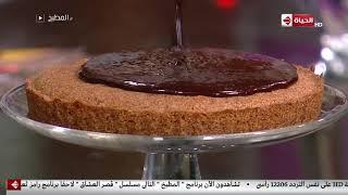 """المطبخ - طريقة عمل """" البسبوسة بجناش الشوكولاتة """" على طريقة الشيف أسماء مسلم"""