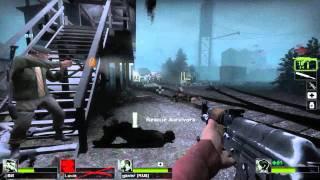 Left 4 Dead 2 Multiplayer Walkthrough Part 9 Death Toll