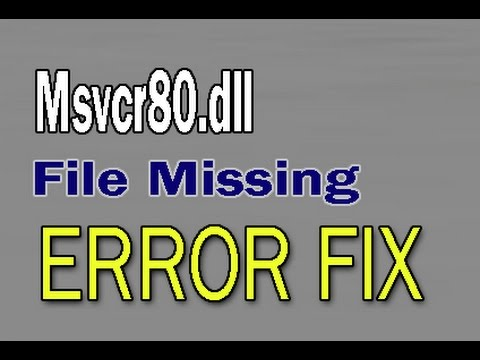 Microsoft office outlook error msvcr80. Dll | free knowledgebase.