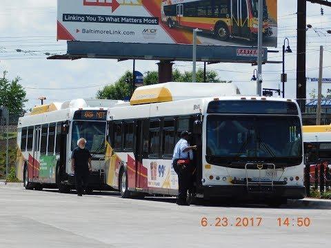 MTA Maryland: Bus Observations (June 2017) - Part 1/4  [#066]