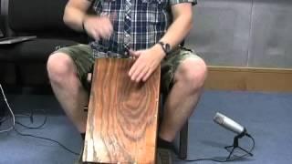 Cajon tutorial - 18 latin and cuban beats demonstrated