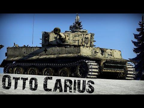 Otto Carius - German Tank Legend | Warthunder Movie