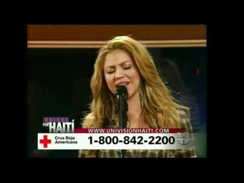 Shakira - Solo Le Pido A Dios - Unidos Por Haiti