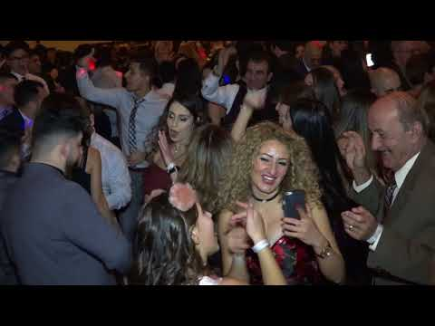 Assyrian Church Of The East Diocese New Year's Party 2018 With Evin Agassi PART 2