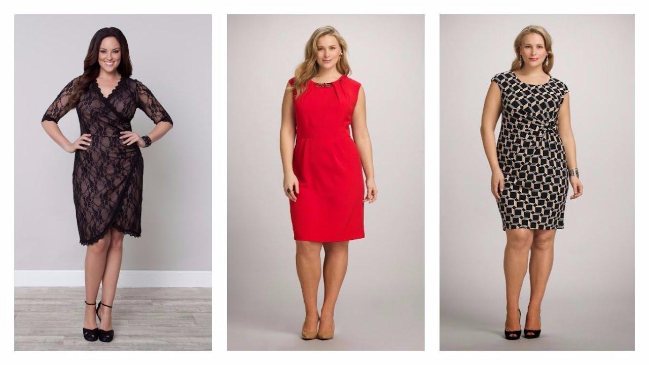 26743891a5bc8 VESTIDOS PARA SEÑORAS GORDITAS 2017  Moda  Mujer  Tendencias  Vestidos