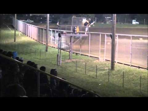 Late Model B-Main #1 From Ohio Valley Speedway, 9/7/13.