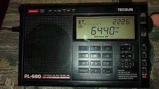 Tecsun pl-680 Беглый обзор коротких волн