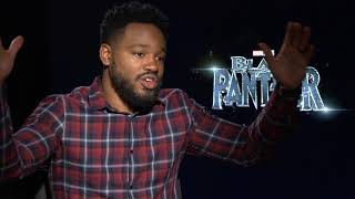 Black Panther director Ryan Coogler talks working with Kendrick Lamar
