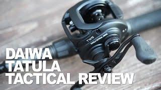 Daiwa Tatula Tactical 100XSL Baitcast Reel review