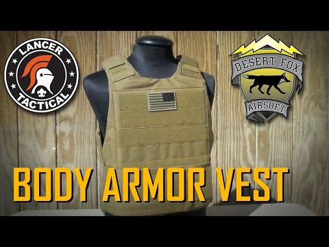 Lancer Tactical - CA-302 Body Armor Vest Review (slick carrier)