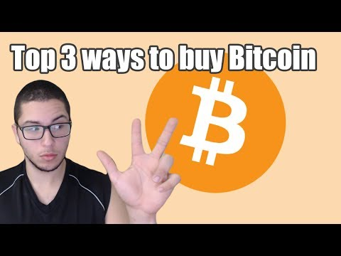 TOP 3 WAYS TO BUY BITCOIN | WHERE TO BUY BITCOIN?