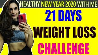 Weight loss || new year resolution 2020 ...