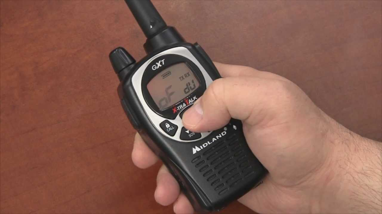 How To Set Silent Operation on a Midland GXT1000   Radio 101