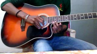 Tum hi ho love theme guitar solo( lesson)