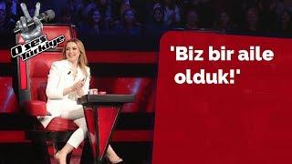 O Ses Türkiye ekibiyle ilgili çok güzel sözler sarf etti!  | 33.Bölüm | O Ses Türkiye 2018
