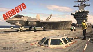 F-35C Catapult Launches