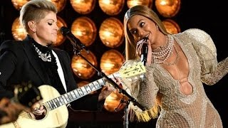 beyonce steals the show 2016 cma awards daddy lessons beyonc dixie chicks