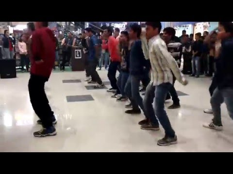NITS MOB-Flash Mob Incandescence'16