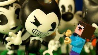 - БЕНДИ vs БАЛДИ vs FORTNITE Лего НУБик Майнкрафт ФНАФ Мультики LEGO Minecraft FNAF Мультфильмы