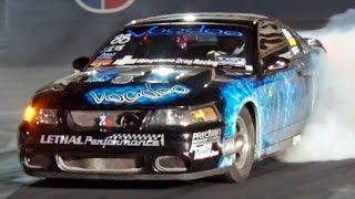 TURBO Mustang Cobra SHATTERS 1/4 Mile RECORD!