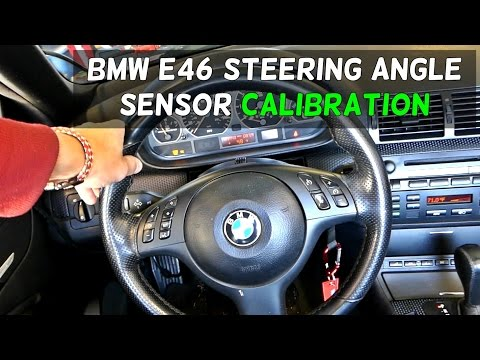 bmw steering angel sensor calibration doovi. Black Bedroom Furniture Sets. Home Design Ideas