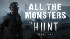 Hunt: Showdown - All Enemies / All Monsters