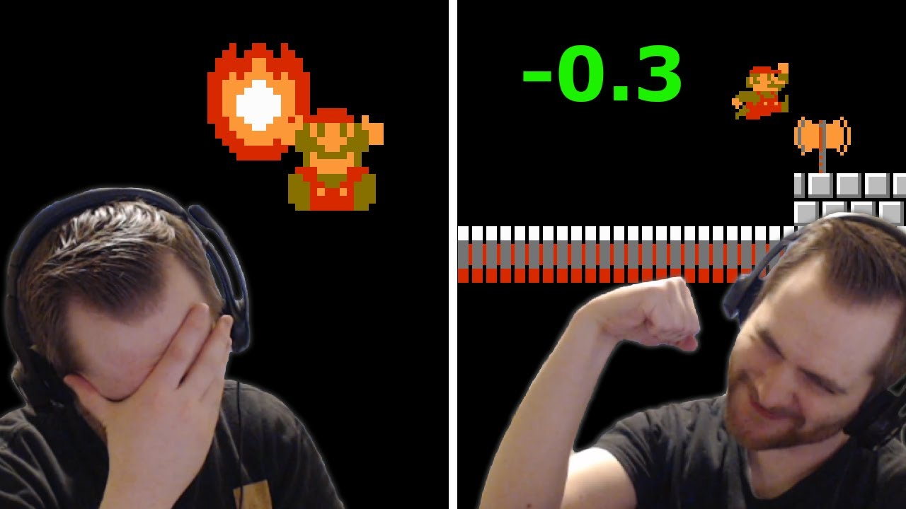 A Day in the Life of a Mario Speedrunner