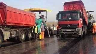Asfaltiranje mosta Zemun-Borča