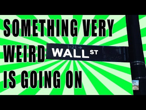 Something VERY WEIRD is Going On! The Stock Market is Completely OUT OF WHACK!