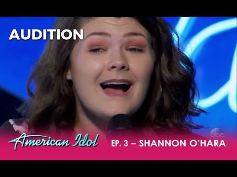 Shannon O'Hara: Small-town Girl DELIVERS 'When We Were Young' By Adele | American Idol 2018