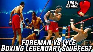 Legendary Boxing Slugfest (George Foreman vs Ron Lyle)