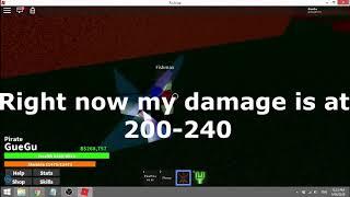 (ROBLOX) ONE PIECE BIZARRE ADVENTURE) (WORKING) HACK DOUBLE BLADE DAMAGE!!